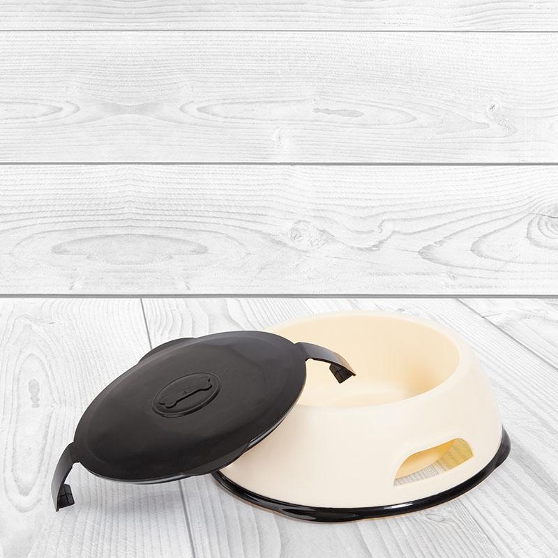 Edupet dog bowl with lid design
