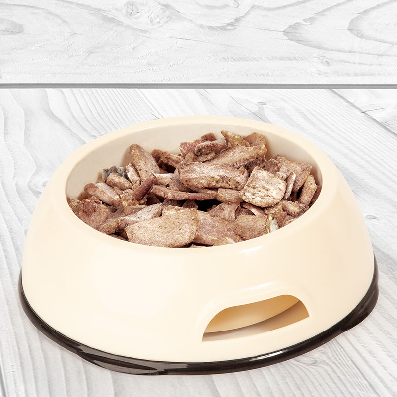 Edupet dog bowl with lid hygienic